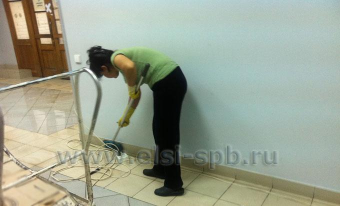 Тщательная уборка помещений после ремонта и строительства
