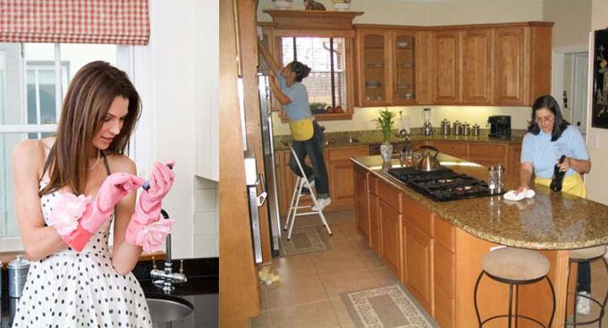 Клининговые услуги для частных клиентов: уборка в квартире и на даче