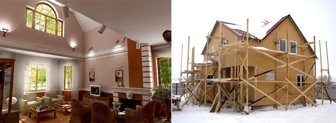 Загородное строительство: от фундамента и стен до домов и бань под ключ