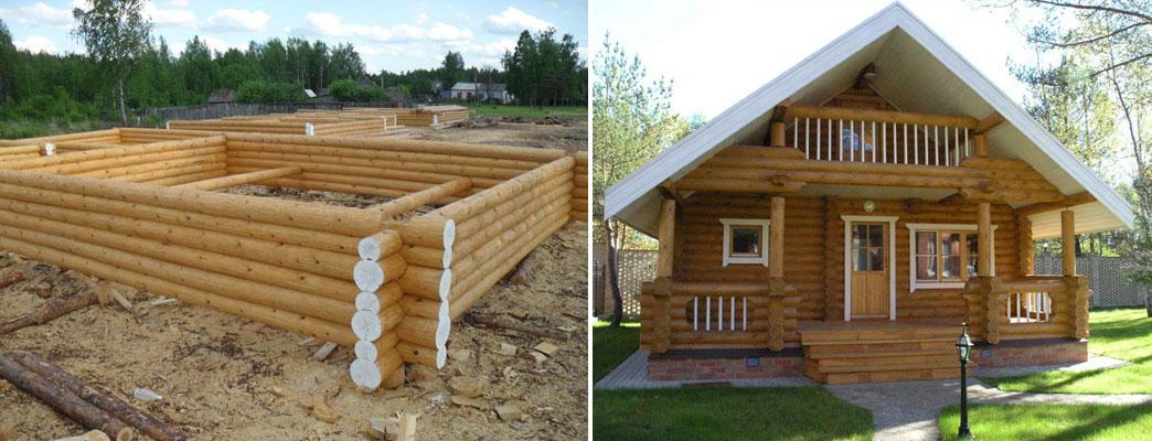 Строительство рубленых деревянных домов и бань