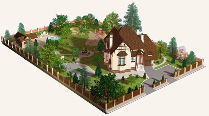 Планирование загородных участков